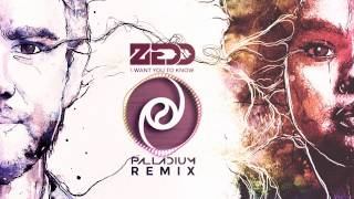 Zedd ft. Selena Gomez - I Want You To Know (Palladium Remix)