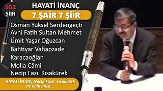 7 POET 7 POETRY - MEMORY OF LIFE WITH FAITH - NECİP FAZIL - DELAYED APPOINTMENT