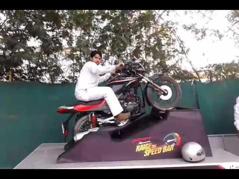 Hero Xtreme Sports wheely Riding