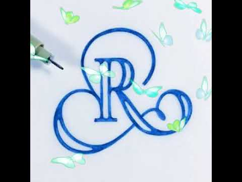 Different styles of letters R - YouTube