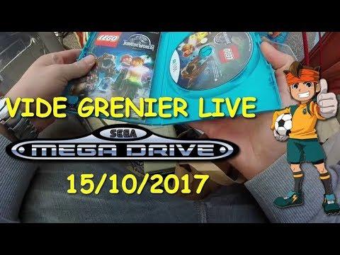 VIDE GRENIER LIVE 15-10-2017 Sega c'est plus fort que ton porte-monnaie