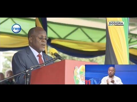 Alichozungumza JPM  kwenye sherehe za muungano Dodoma