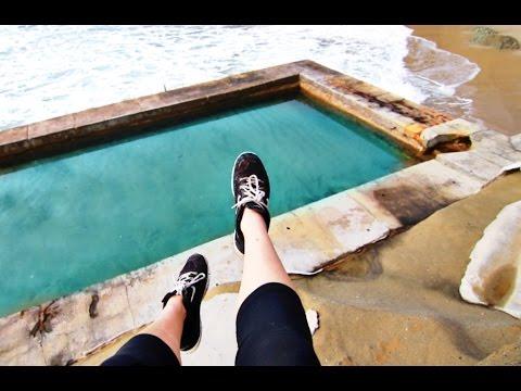 Climbing 1,000 Steps Beach To Abandoned Pool