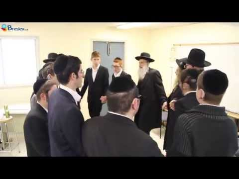 Rav Shalom Arush Speaks to Deaf Torah Students