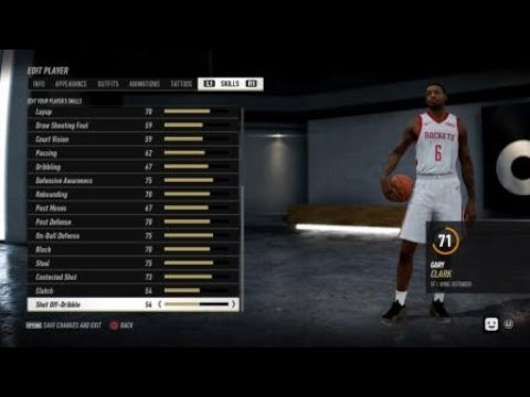  NBA LIVE 19   Adding Danuel House and Gary Clark to the Houston Rockets 