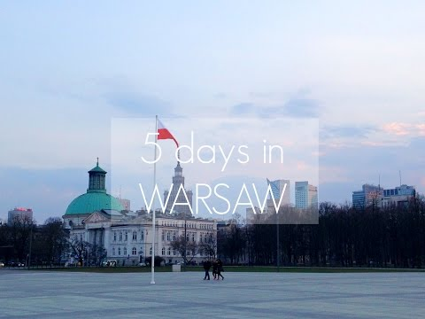 Trip to Poland: Warsaw at Easter!