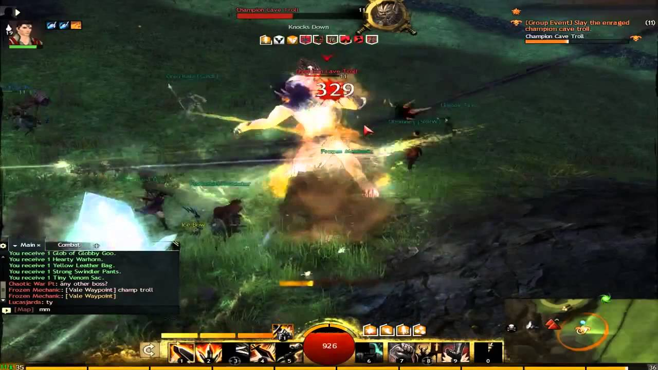 2 Troll Hunting Champion Youtube Cave Guild Wars 5Fq6w5z