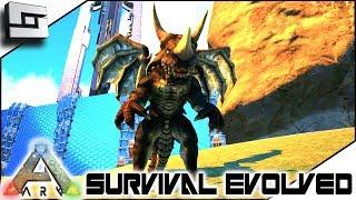 ARK: Survival Evolved - DRAGON REX TAME! S2E10 ( Modded Ark Extinction Core )
