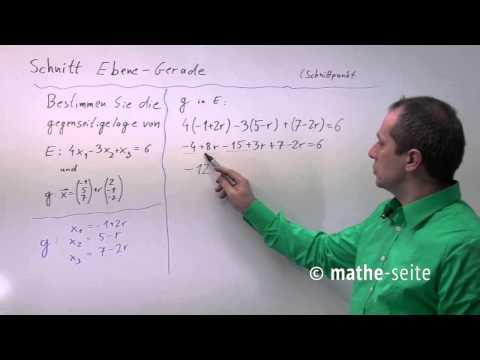 Schnittpunkte zweier Geraden from YouTube · Duration:  1 minutes 57 seconds