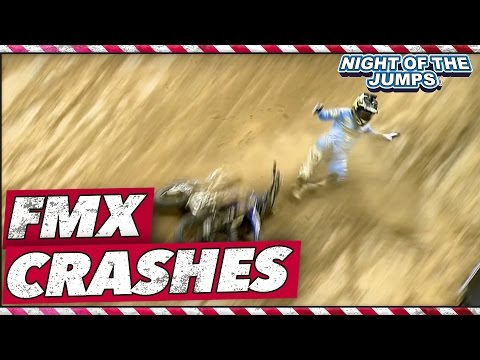 Freestyle Motocross Crashes 2015 - NIGHT Of The JUMPs