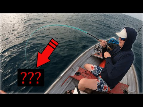 Don't Try This! - 12ft Boat Offshore Fishing