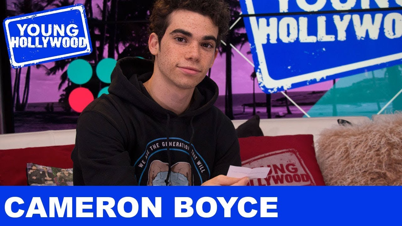 How Awkward Was Cameron Boyce S First Kiss Youtube
