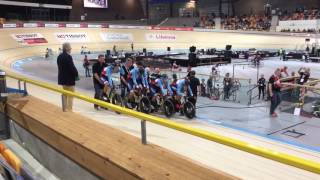 2017 uci world cup 2 apeldoorn netherlands 1st round victory over france bayley simpson