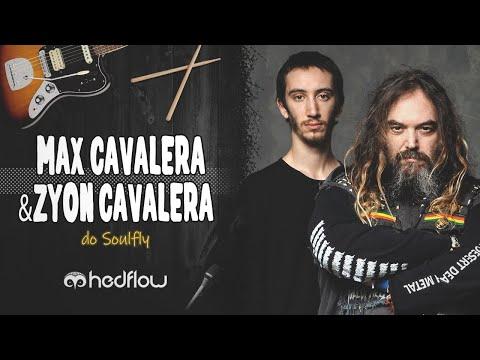 Zyon e Max Cavalera: Soulfly em família