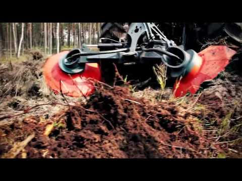 Bog Monsters: Mega Tractor Bracke Forest T26 - Disc Trencher