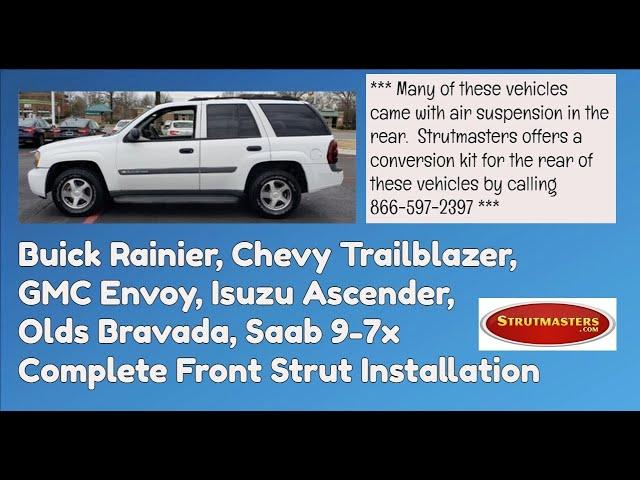 Gm Front Strut Installation Envoy Trailblazer Bravada Rainier