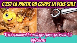 C'est la partie du corps la plus sale : Voici comment la nettoyer des germes et des bactéries