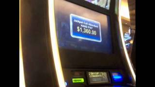 $1 Gordon Tower -  Slot Jackpot HANDPAY