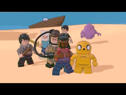 Lego Dimensions - ALL Playable Characters showcase (Waves 1 - 8)