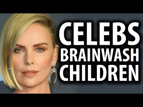 Charlize Theron & Megan Fox Brainwash Their Kids