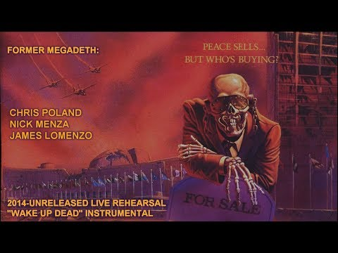 "Listen to Former Megadeth Members Nick Menza, Chris Poland and James LoMenzo Play ""Wake Up Dead"" 