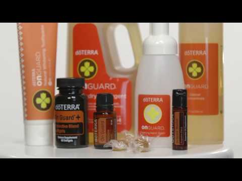 doTERRA On Guard® Product Line