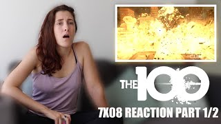 "THE 100 7X08 ""ANACONDA"" REACTION PART 1/2"
