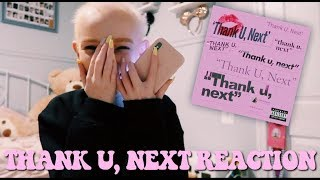THANK U, NEXT REACTION | Lily Constance