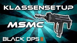 black ops 2 msmc klassensetup beste smg deutsch german
