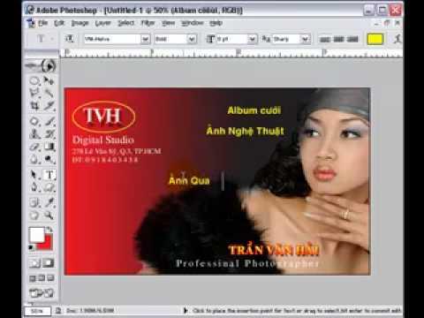Lop thiet ke album-Thiet ke Name Card (3) HocPhotoshop.Com