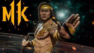 [Mortal Kombat 11] Scorpion was boring, so I became Bruce Lee - Liu Kang Practice
