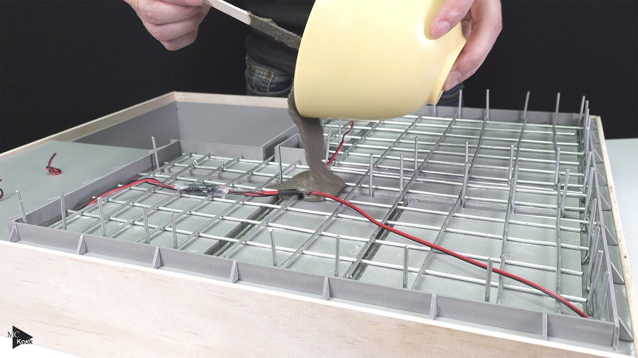 How To Make Awesome Mini House 1 Concrete Foundations You