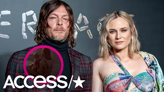 Diane Kruger Shares First-Ever Snap Of Her Daughter With Norman Reedus! | Access