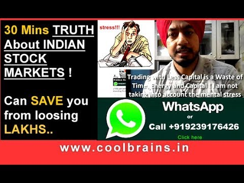30 Mins Truth about Indian Share Market 2017 / Hidden Gems 2017 / Power of Investing