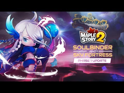 MapleStory 2 Skybound Expansion Announce Trailer