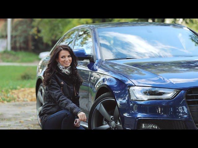 Audi A4 (B8) S-line. Тест-драйв av.by