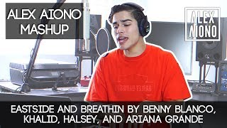 Eastside and Breathin by Benny Blanco, Khalid, Halsey, and Ariana Grande | Alex Aiono Mashup MP3