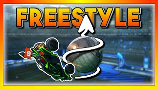 Becoming a pro at freestyling?! | Musty Rocket League MOMENTS 13 🐮