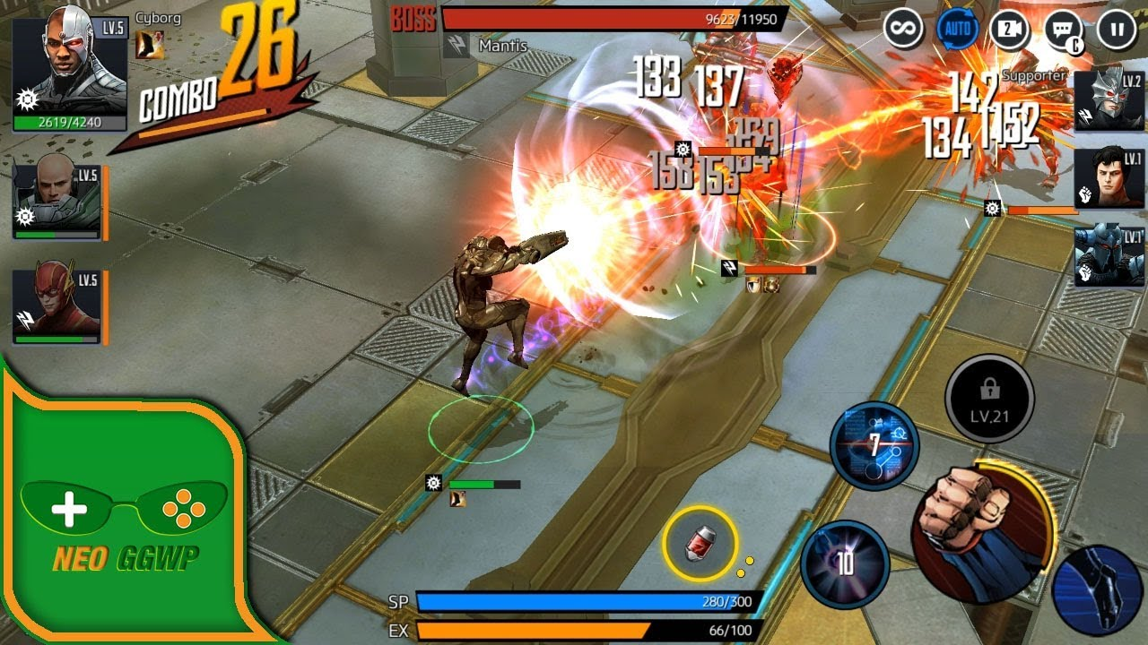 DC UNCHAINED (Android iOS APK) - Action RPG Gameplay Chapter 1 (CBT)