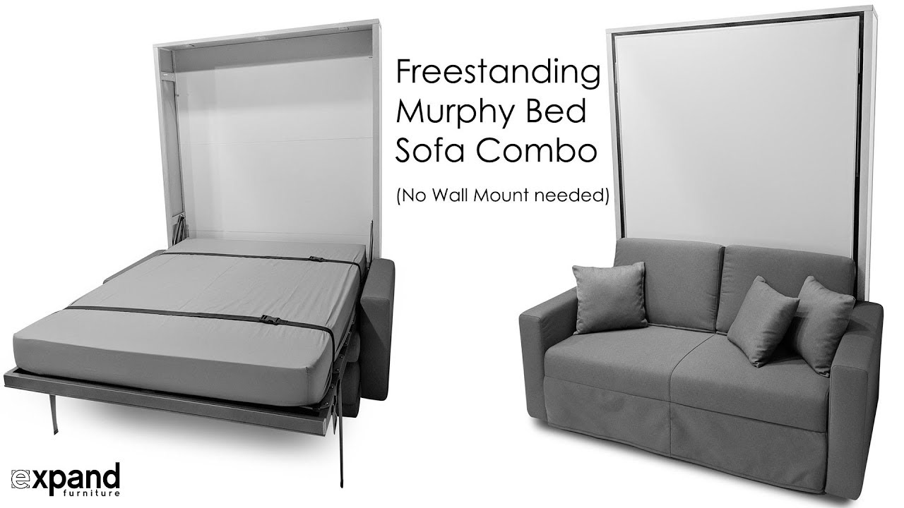 No Mount Murphy Bed Sofa Wall