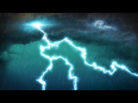 Grand Thunderstorm 10 Hours | Rain and Thunder White Noise for Sleep, Studying or Focus