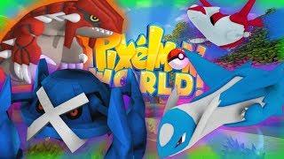 GENERATION 3 IS HERE!!! - PIXELMON WORLD! #10 (Minecraft Pokemon Mod)