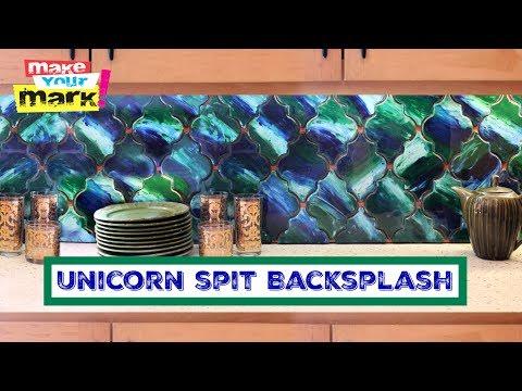 How to: Unicorn SPiT Backsplash