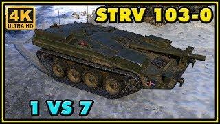 World of Tanks | Strv 103-0 - 10 Kills - 8,6K Damage - 1 VS 7 Gameplay