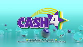 Tennessee Lottery Morning_C3_C4_LS 02/23/2021