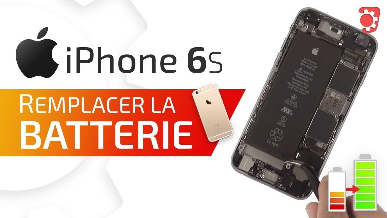 Tuto iPhone 6S : Changer la batterie démontage + remontage HD