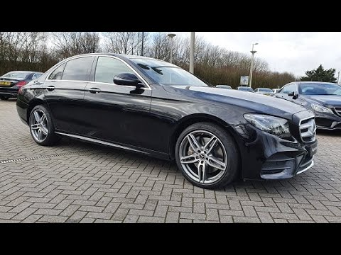 Mercedes-Benz E400d 4Matic AMG Line Premium Plus Saloon - HX19WFW - NOW SOLD