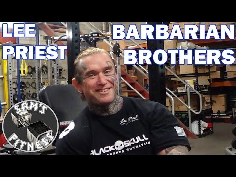 LEE PRIEST talks about the BARBARIAN BROTHERS