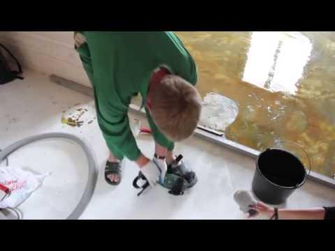 видео: 3d пол в ванной своими руками
