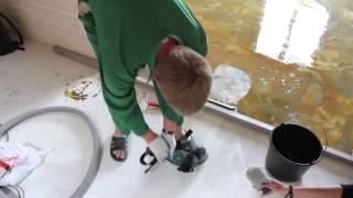 як зробити 3д підлоги у ванній своїми руками
